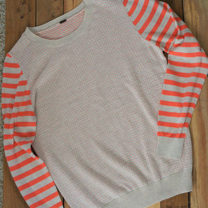 Poof Striped & Polka Dot Lightweight Sweater